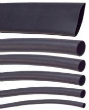 Heatshrink sleeving <Br> Available in Red, Black, Purple, Yellow <BR>2:1 shrink <br>1.6-50.8mm